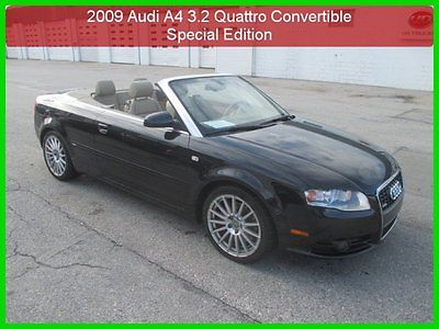 Audi : A4 3.2 Special Edition 2009 3.2 special edition used auto awd convertible 1 owner clean carfax
