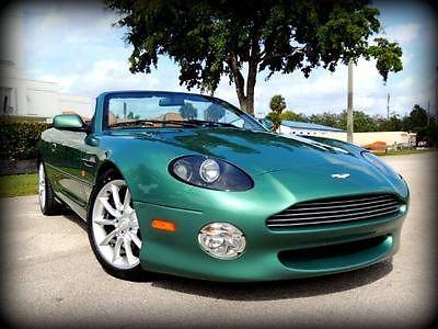 Aston Martin : Vantage Volante 2001 aston martin db 7 vantage