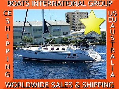 2004 HUNTER 386 Sloop w Yanmar Diesel AC Generator - We Ship/Export Worldwide