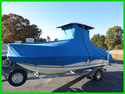 1998 Sea Pro 190 Center Console Yamaha 115 Trailer T-top Cover We Export
