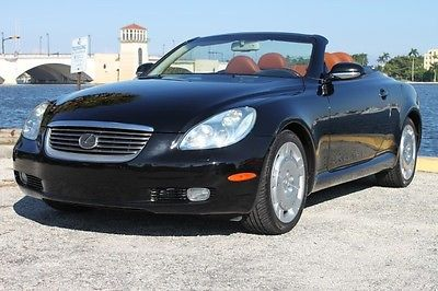 Lexus : SC Base Convertible 2-Door 2002 lexus sc 430 convertible navigation heated seats mark levinson