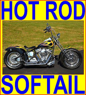 American Classic Motors : 200 TIRE BOBBER CHOPPER SOFTAIL NEW 110