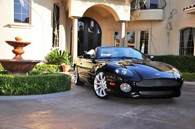 Aston Martin : DB7 Vantage Volante Convertible 2-Door 2003 aston martin db 7 volante every option