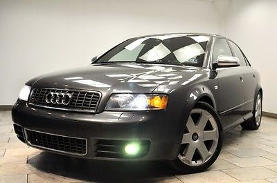Audi : S4 S4 2005 audi s 4 6 speed one of kind don t miss it
