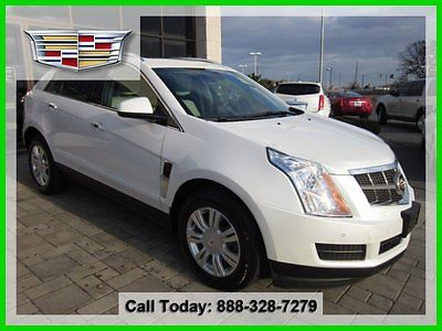 Cadillac : SRX Luxury Certified CPO Certified 4x4 Awd All Wheel Drive Navigation Sunroof  New Tires Remote Start