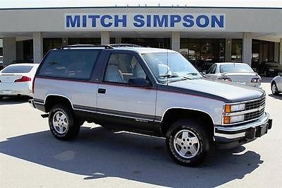 Chevrolet : Blazer K1500 2 Door Blazer  Super Clean 97K Original Mile 1992 chevrolet k 1500 2 door blazer super clean 97 k original miles