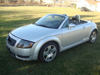 Audi : TT Quattro AWD Roadster Easy Fixer Salvage Audi TT Convertible Salvage Rebuildable Repairable Wrecked Project Damaged FIXER