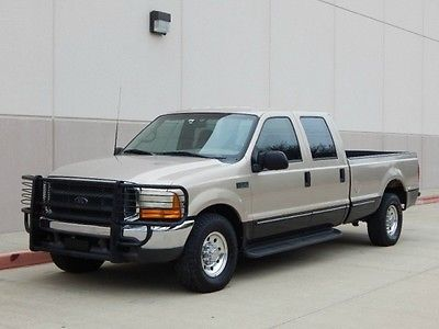 Ford : F-350 FreeShipping 1999 ford f 350 crew cab long bed 7.3 l diesel 6 speed 1
