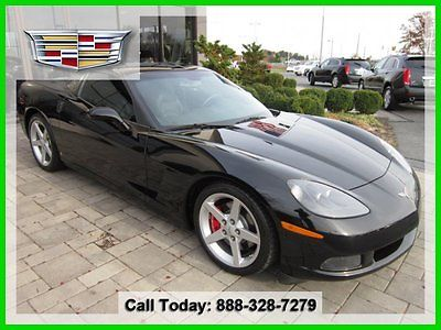 Chevrolet : Corvette Base Coupe 2-Door 2007 used 6 l v 8 16 v manual rear wheel drive with limited slip differential coupe