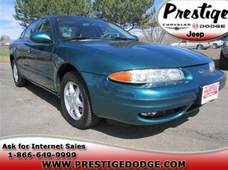 Jade Green 1999 Oldsmobile Alero GL - Dealer: Longmont