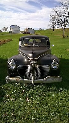 Plymouth : Other TOP MODEL, EXTRA CHROME AND BUMPER GUARDS, RADIO 1941 plymouth special deluxe survivor easy project complete original running car