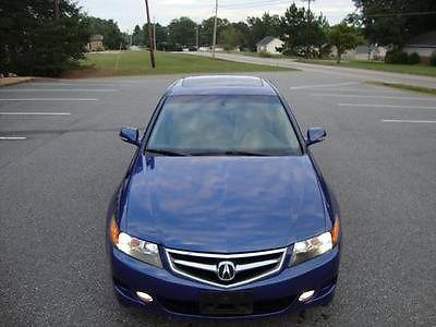 Acura : TSX 4dr Sedan Automatic Acura TSX 4dr Sedan 2006 automatic Gasoline 2.4L 4 Cyl BLUE