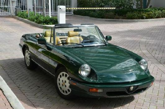 1994 Alfa Romeo Spider for: $16500