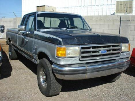 1989 Ford 3/4 Ton Trucks CHEAP 4X4 EXT CAB WITH AWESOME WHEELS!!!! - DV Auto Center, Phoenix Arizona