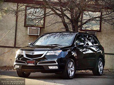 Acura : MDX AWD 4dr Tech Pkg 2013 acura mdx technology factory warranty loaded
