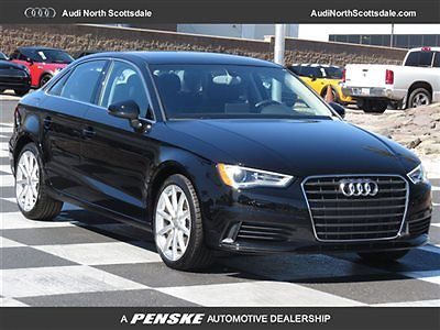 Audi : A3 One Owner- FWD- Financing 2015 audi a 3 6 k miles leather sun roof bluetooth audio satelitte radio