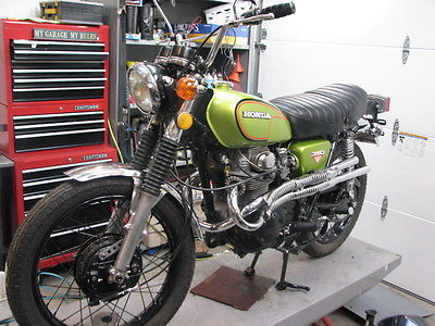 Honda : CL 1972 honda cl 350 fully restored