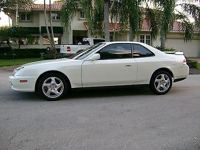 Honda : Prelude 2dr. coupe 1998 honda prelude 30000 orig mi amazing orig cond pearl wht loaded