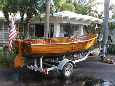 1939 Vintage Classic Original 15' Lyman Fisherman Antique Boat