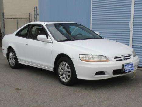 2002 Honda Accord Coupe EX w/Leather