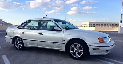 Ford : Taurus SHO 1990 ford taurus sho extremely low miles 16 k clean title