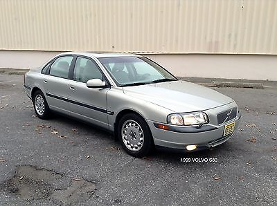 Volvo : S80 2.9 Sedan 4-Door 1999 volvo s 80 sedan 79 k mls clean loaded excellent condition