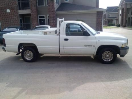 1999 Dodge RAM 1500, Dual Fuel with the tool box