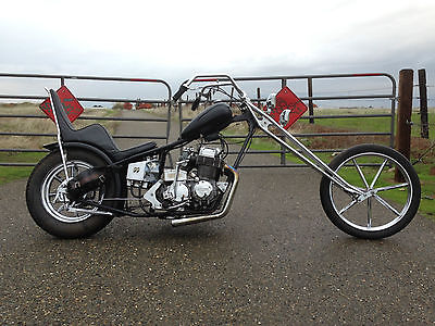 Custom Built Motorcycles : Chopper 1971 cb 750 sohc honda chopper harman invader cb 750