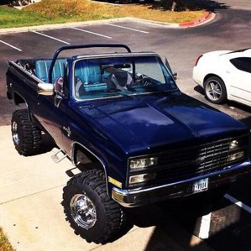 Chevrolet : Blazer Base Sport Utility 2-Door 1974 chevrolet k 5 blazer gmc jimmy lifted 383 stroker convertible 4 x 4