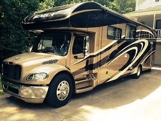 Jayco Seneca Super C, Diesel, freightliner chasse, with tow package, 37 ft.