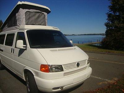 Volkswagen : EuroVan MV Van Camper 3-Door 2001 volkswagen eurovan mv van camper 3 door 2.8 l