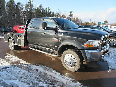 Dodge : Ram 5500 4 Door Cab & Chassis with Flat Bed 2011 dodge ram 5500 crew cab 4 x 4 flat bed