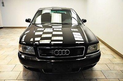Audi : A8 A8 L 2001 audi a 8 l navigation blk blk low miles 1 owner warranty