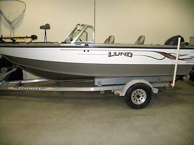2001 LUND 1800 Fisherman. LOW HOURS. (2) Yamaha 4-strokes, Minnkota, kicker
