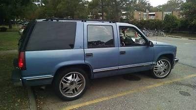 Chevrolet : Tahoe ls 1996 chevrolet tahoe ls sport utility 4 door 5.7 l