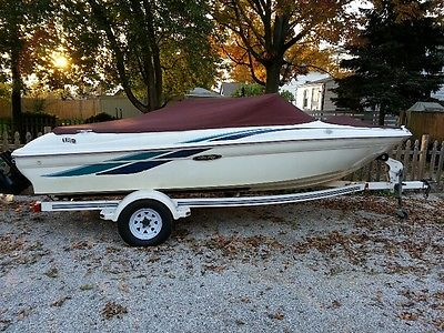 1998 Sea Ray 180 (18ft open bow runabout) w/Mercruiser 3.0L I/O (135hp)