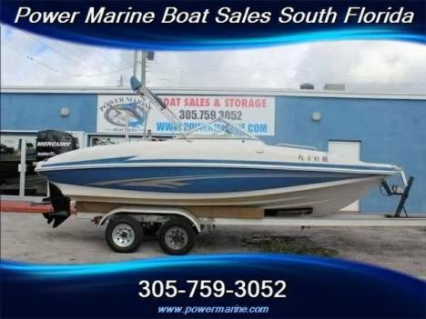 2006 Tahoe Tracker Marine 19 Deck Boat w/ Mercury 175/Great Condition!