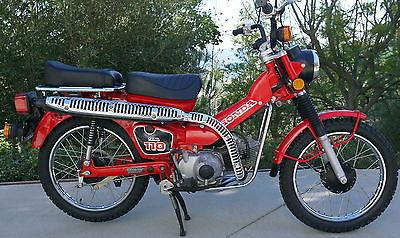 Honda : CT 1986 honda ct 110 190 original miles never seen dirt honda showroom clean