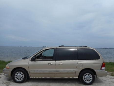 Ford : Windstar 4dr SE 00 ford windstar se mini van 7 pass rear air loaded one owner florida van