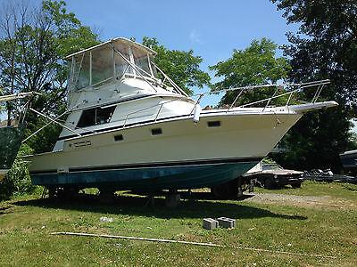 1985 Luhrs 342 SportFish Twin Diesel sport fishing boat