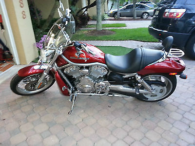 Harley-Davidson : VRSC 2008 v rod red excellent condition