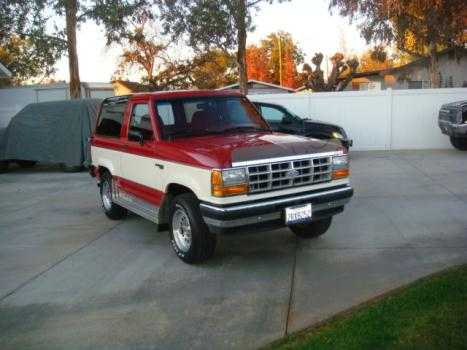 Ford : Bronco II Wagon 4WD CLEAN, LOW MILES, 27K ONE OWNER, AUTO, 4X4