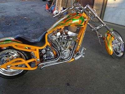 Bourget : Low Blow  2003 bourget bike works custom low blow chopper