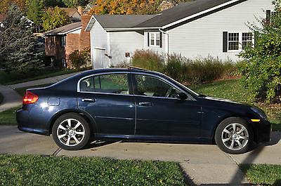 Infiniti : G35 G35X 2005 infiniti g 35 x sedan 4 door 3.5 l awd twilight blue color adult owned clean