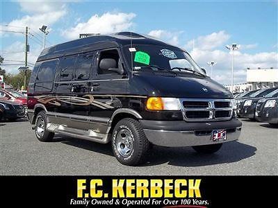 Dodge : Ram Van Conversion Conversion Van Automatic Gasoline V8 5.2L Black