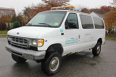 Ford : E-Series Van XL Extended Cargo Van 2-Door 1997 ford heavy duty e 250 quigley 4 x 4 van thermal transport rear heat and a c