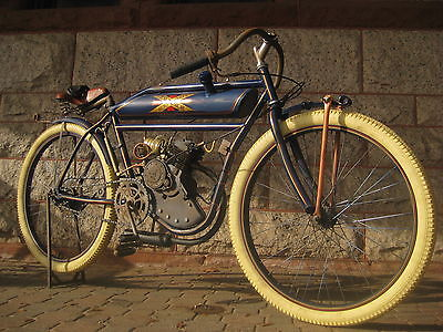 Other Makes Antique 1910 boardtrack racer replica Excelsior Indian Harley