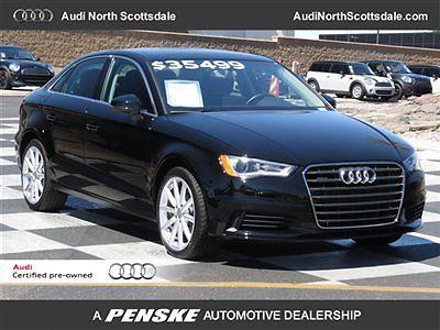 Audi : A3 4dr Sedan quattro 2.0T Premium 4 dr sedan quattro 2.0 t premium low miles automatic gasoline 2.0 l 4 cyl brilliant
