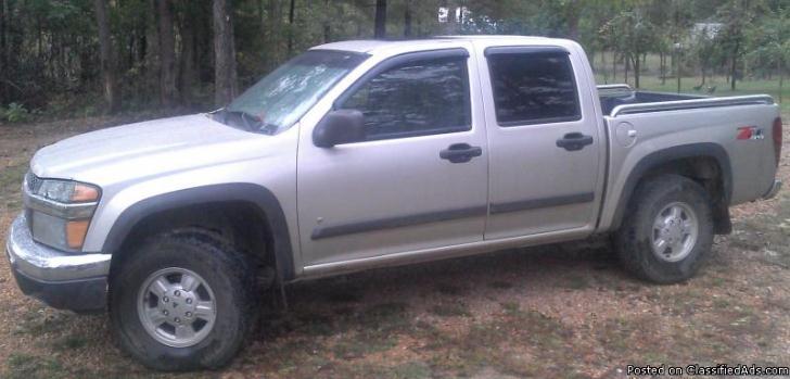 2006 Chevy Colorado 4x4