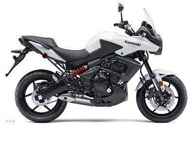 Kawasaki : Other NEW 2013 KAWASAKI KLE650  VERSYS $6195 PEARL STARDUST WHITE KM0011